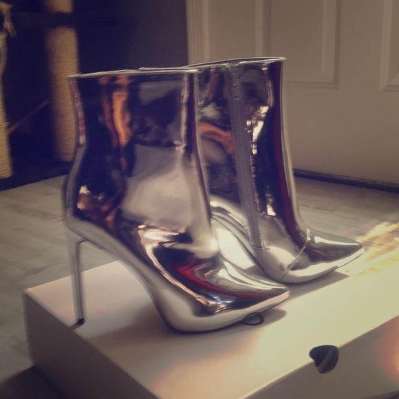 Aldo Shoes - 👠.. Aldo Mirror Ankle Boots👠....